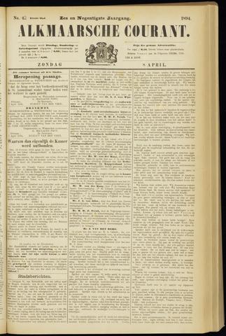 Alkmaarsche Courant 1894-04-08