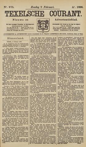 Texelsche Courant 1896-02-09