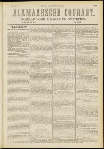 Alkmaarsche Courant 1914-05-14