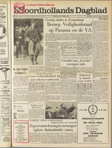 Noordhollands Dagblad : dagblad voor Alkmaar en omgeving 1964-01-11