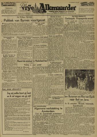 De Vrije Alkmaarder 1946-09-24