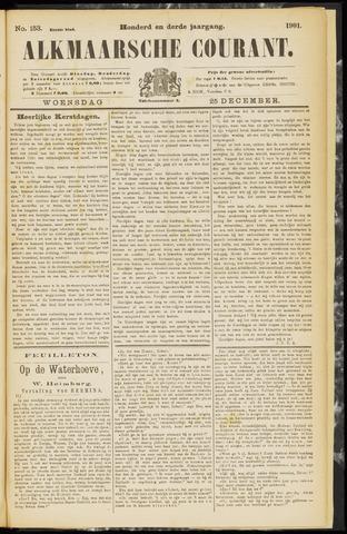 Alkmaarsche Courant 1901-12-25