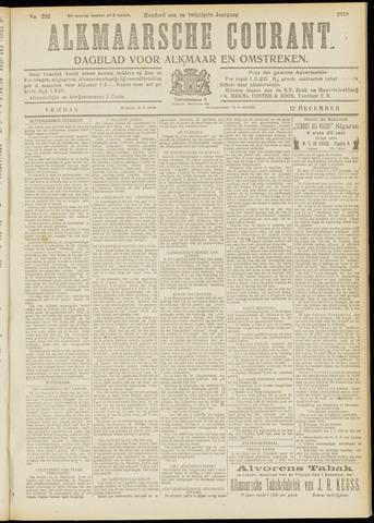 Alkmaarsche Courant 1919-12-12