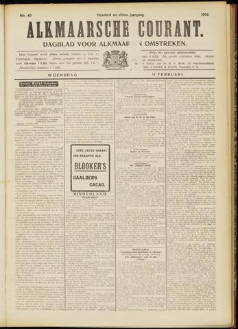 Alkmaarsche Courant 1909-02-17
