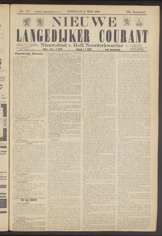 Nieuwe Langedijker Courant 1930-05-06