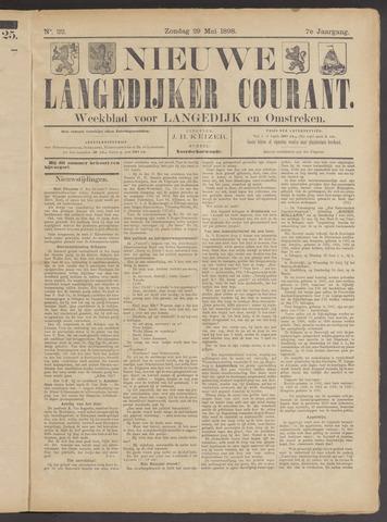 Nieuwe Langedijker Courant 1898-05-29