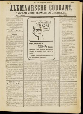 Alkmaarsche Courant 1913-01-04