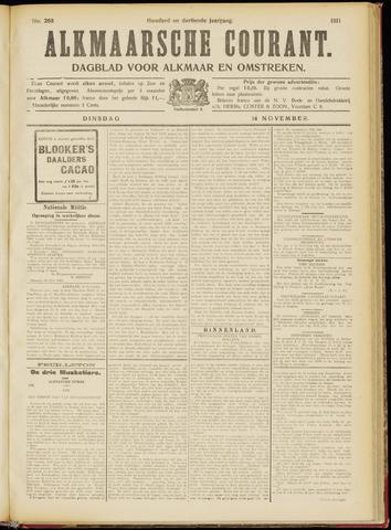 Alkmaarsche Courant 1911-11-14