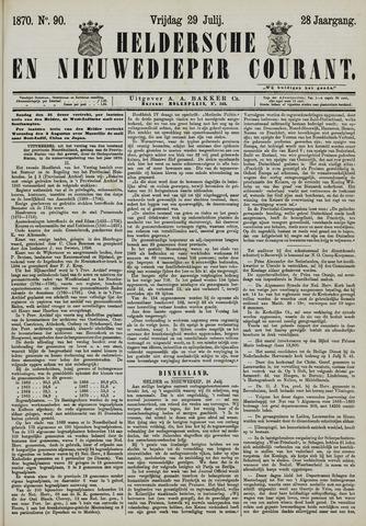 Heldersche en Nieuwedieper Courant 1870-07-29