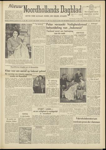 Nieuw Noordhollandsch Dagblad : voor Alkmaar en omgeving 1948-12-16