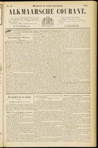 Alkmaarsche Courant 1899-08-02
