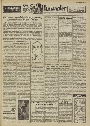 De Vrije Alkmaarder 1950-03-13
