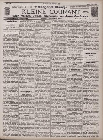 Vliegend blaadje : nieuws- en advertentiebode voor Den Helder 1913-02-05