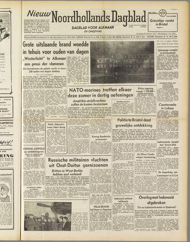 Nieuw Noordhollandsch Dagblad : voor Alkmaar en omgeving 1952-02-28