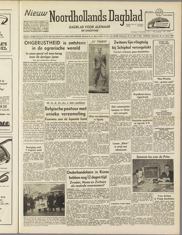 Nieuw Noordhollandsch Dagblad : voor Alkmaar en omgeving 1951-12-15