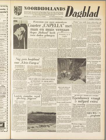 Noordhollands Dagblad : dagblad voor Alkmaar en omgeving 1958-01-08