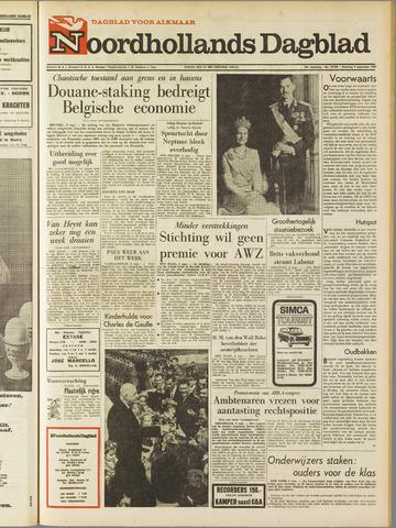 Noordhollands Dagblad : dagblad voor Alkmaar en omgeving 1967-09-09