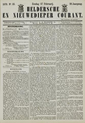 Heldersche en Nieuwedieper Courant 1870-02-27