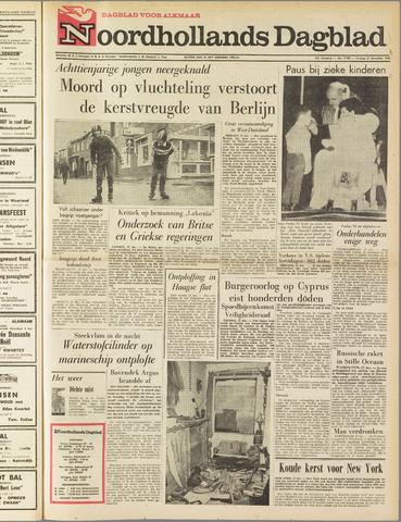 Noordhollands Dagblad : dagblad voor Alkmaar en omgeving 1963-12-27