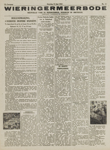 Wieringermeerbode 1943-06-12
