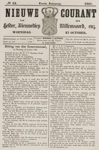 Nieuwe Courant van Den Helder 1861-10-23