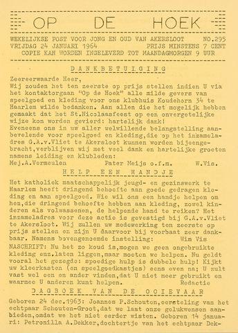 Op De Hoek, weekblad voor Akersloot 1964-01-24