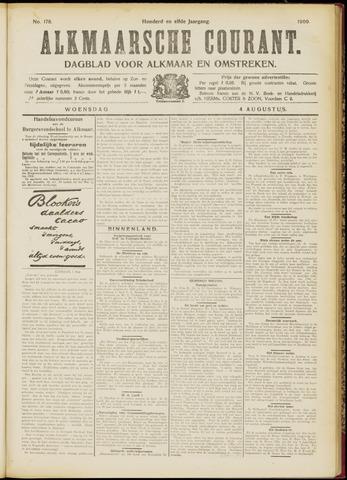 Alkmaarsche Courant 1909-08-04