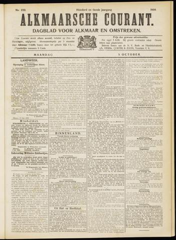 Alkmaarsche Courant 1908-10-05