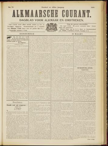 Alkmaarsche Courant 1909-03-25