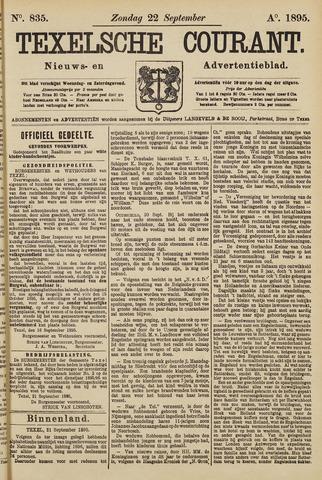 Texelsche Courant 1895-09-22