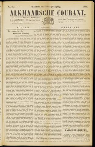 Alkmaarsche Courant 1899-02-12