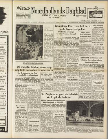 Nieuw Noordhollandsch Dagblad : voor Alkmaar en omgeving 1951-07-14