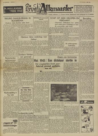 De Vrije Alkmaarder 1950-05-04