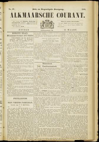 Alkmaarsche Courant 1891-03-15