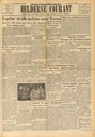 Heldersche Courant 1950-07-27