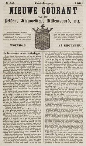 Nieuwe Courant van Den Helder 1864-09-14