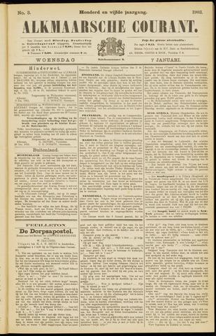 Alkmaarsche Courant 1903-01-07
