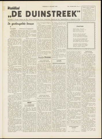 De Duinstreek 1952-03-14
