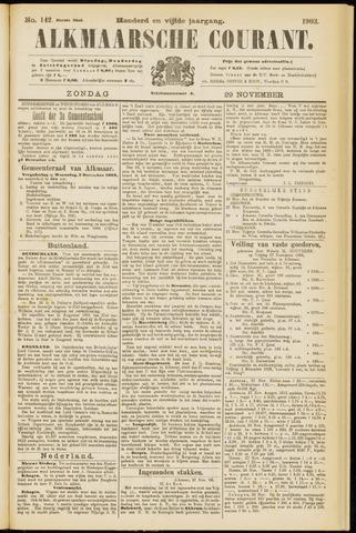 Alkmaarsche Courant 1903-11-29