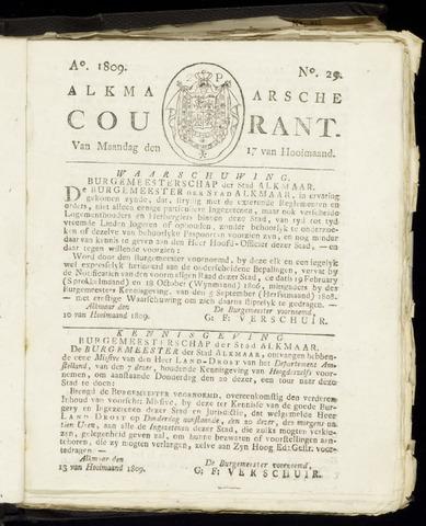 Alkmaarsche Courant 1809-07-17