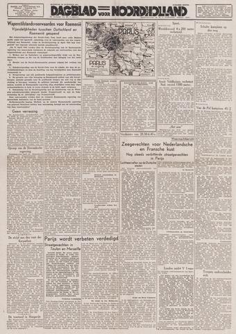 Dagblad Noord-Holland, Schager editie 1944-08-28