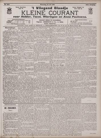 Vliegend blaadje : nieuws- en advertentiebode voor Den Helder 1904-07-20