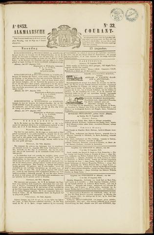 Alkmaarsche Courant 1853-08-15