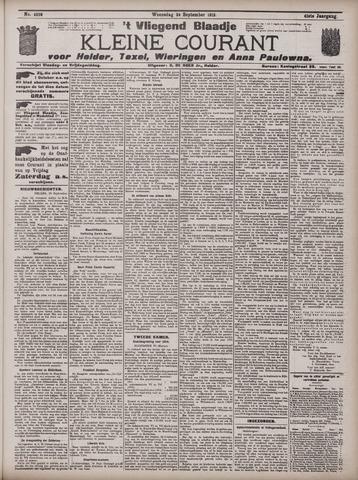 Vliegend blaadje : nieuws- en advertentiebode voor Den Helder 1913-09-24