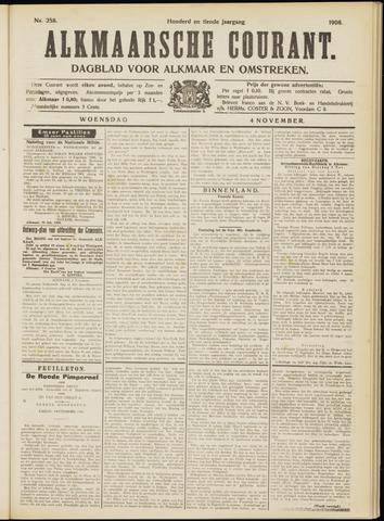 Alkmaarsche Courant 1908-11-04