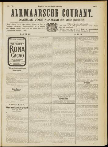 Alkmaarsche Courant 1912-07-22
