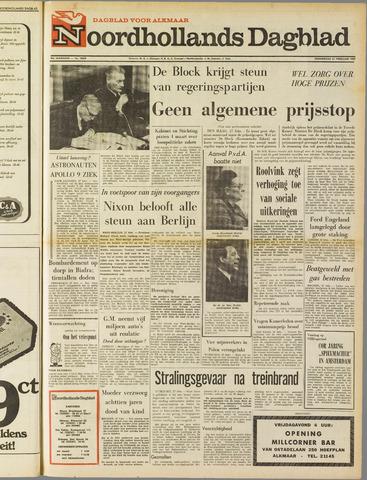 Noordhollands Dagblad : dagblad voor Alkmaar en omgeving 1969-02-27