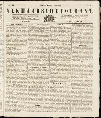 Alkmaarsche Courant 1875-09-05