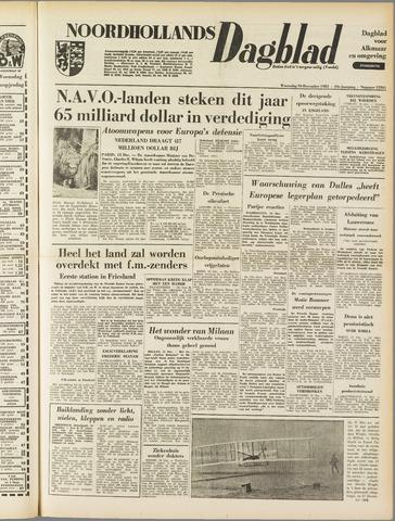 Noordhollands Dagblad : dagblad voor Alkmaar en omgeving 1953-12-16