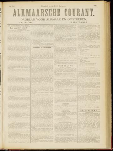 Alkmaarsche Courant 1911-09-30